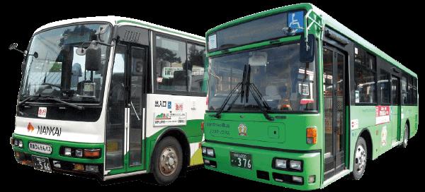 世界遺産 聖地巡礼バス